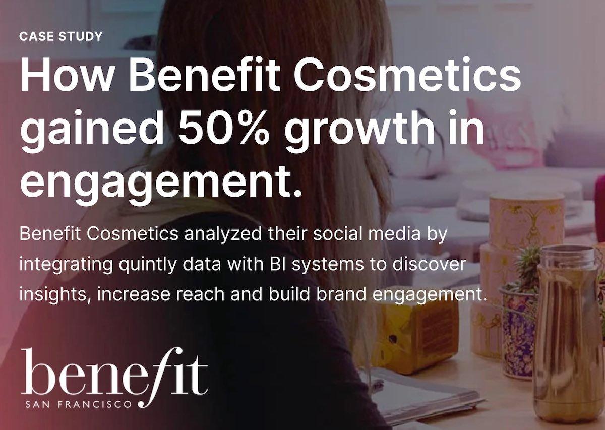 04 social media case study - benefit cosmetics