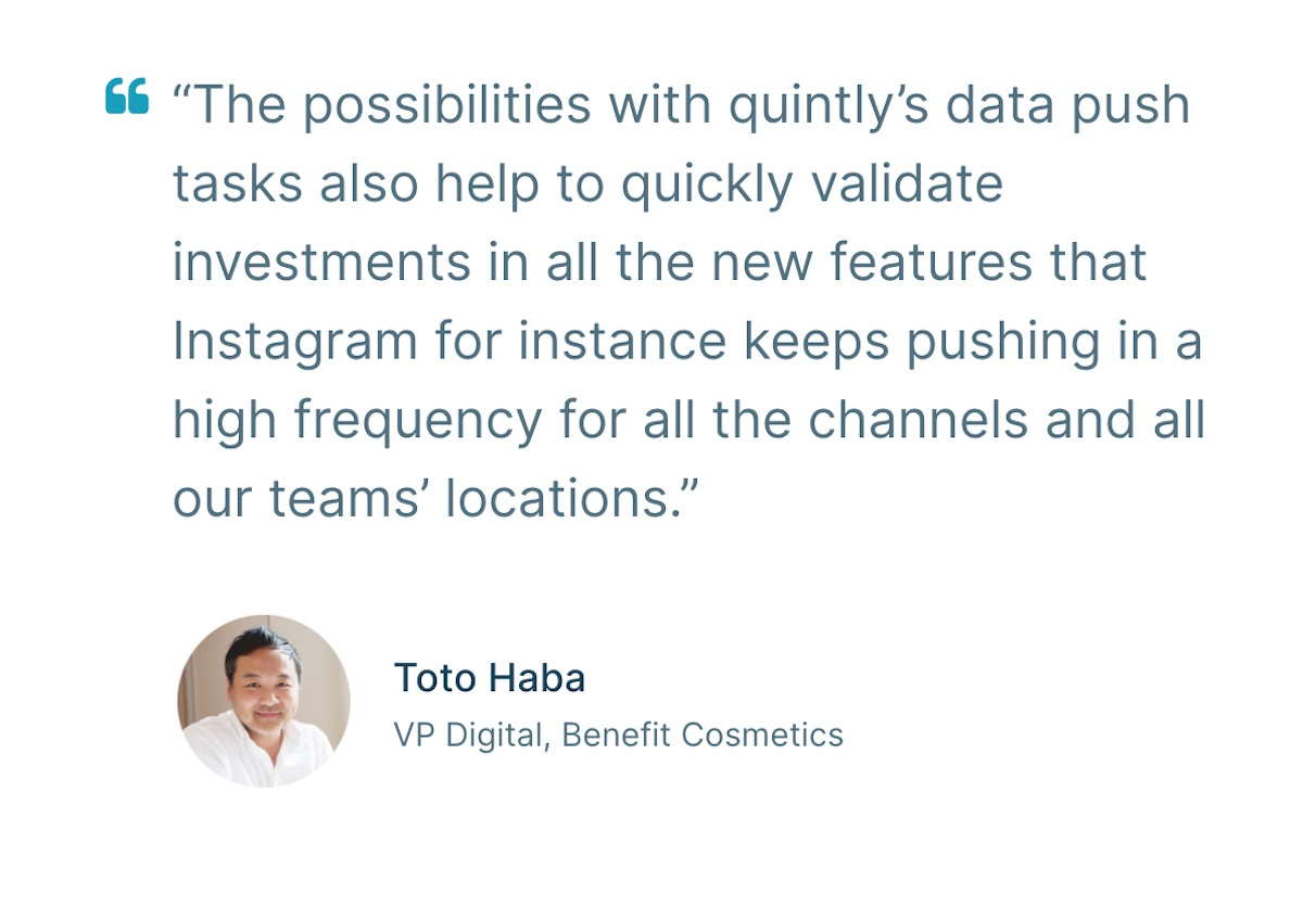 08 social media case study - benefit cosmetics - concluding quote
