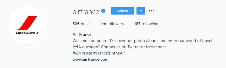 1. Bio_Airfrance